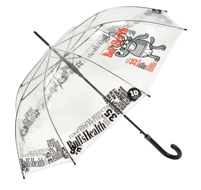 paraguas kukuxumusu transparente